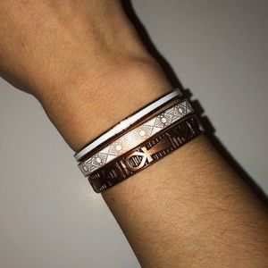 Alex and Ani Cuff Set